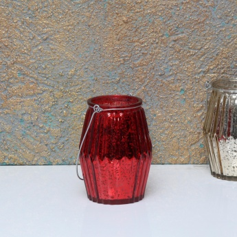 Serena-Shine Metallic Jar with String Light