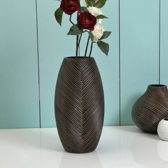 Splendid Adrian Polyresin Linear Long Vase