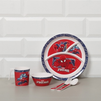 Spiderman Dinner Set - 5 Pcs.