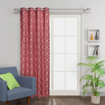 Griffin Jacquard Blackout Door Curtain