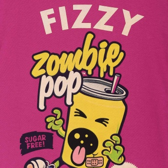 SMILEY Fizzy Pop Printed T-Shirt