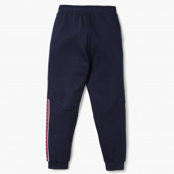 KAPPA Contrast Panel Knitted Joggers