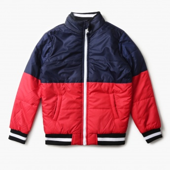KAPPA Quilted Full Sleeves Winter Jacket