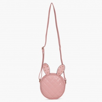 GINGER Quilted Bunny Sling Bag