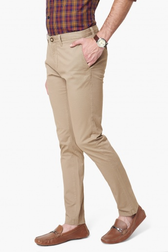 U.S. POLO ASSN. Solid Chino Trousers