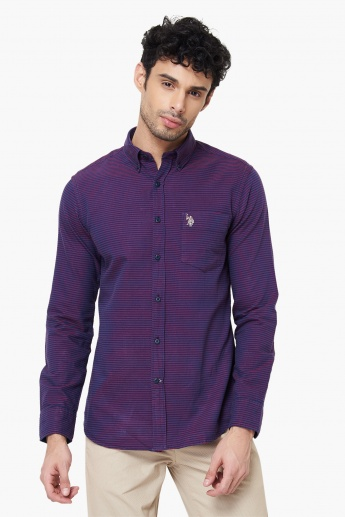 U.S. POLO ASSN. Striped Pocket Shirt