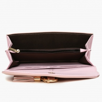 GINGER Solid Flap Closure Wallet