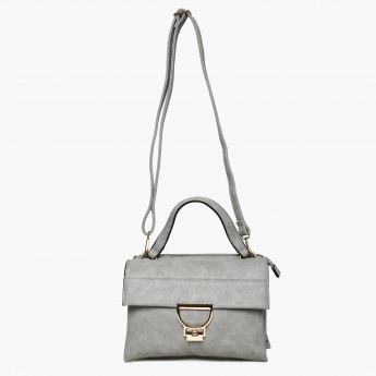 CODE Solid Flap Closure Sling Bag