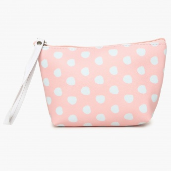 GINGER Printed Zip Closure Pouch