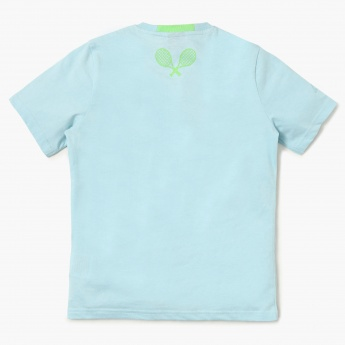 KAPPA Chest Print Crew Neck T-Shirt