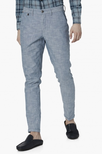LP Patterned Knit Comfy Tapered Casual Trousers