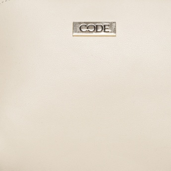 CODE Solid Zip Closure Sling Bag