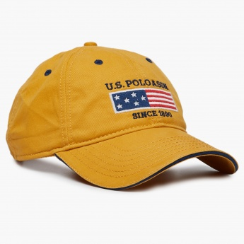 978162e02d5 U.S.POLO ASSN. Solid Adjustable Tab Cap