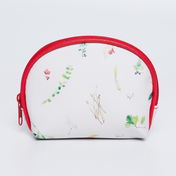 GINGER Floral Print Pouch thumbnail