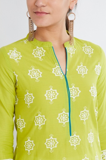 MAX Printed Notch Neck Kurta
