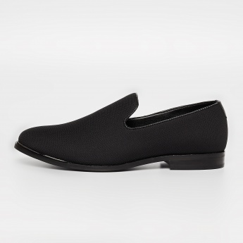 CODE Textured Formal Slip-on Shoes