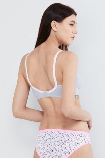 MAX Full Coverage Bra with Lace Insets