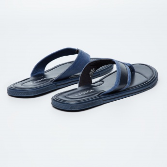 FORCA Solid V-strap Slippers