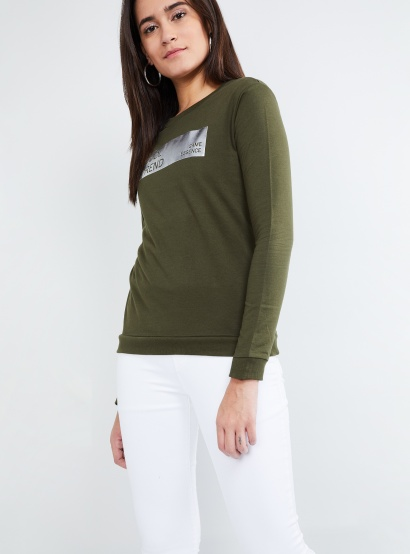 MAX Long Sleeve Printed Sweatshirt thumbnail