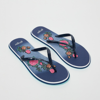 GINGER Floral Printed Slippers