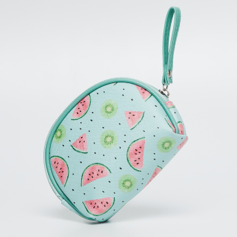 GINGER Printed Zip-Around Pouch thumbnail