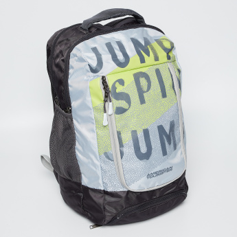 AMERICAN TOURISTER Typographic Print Backpack