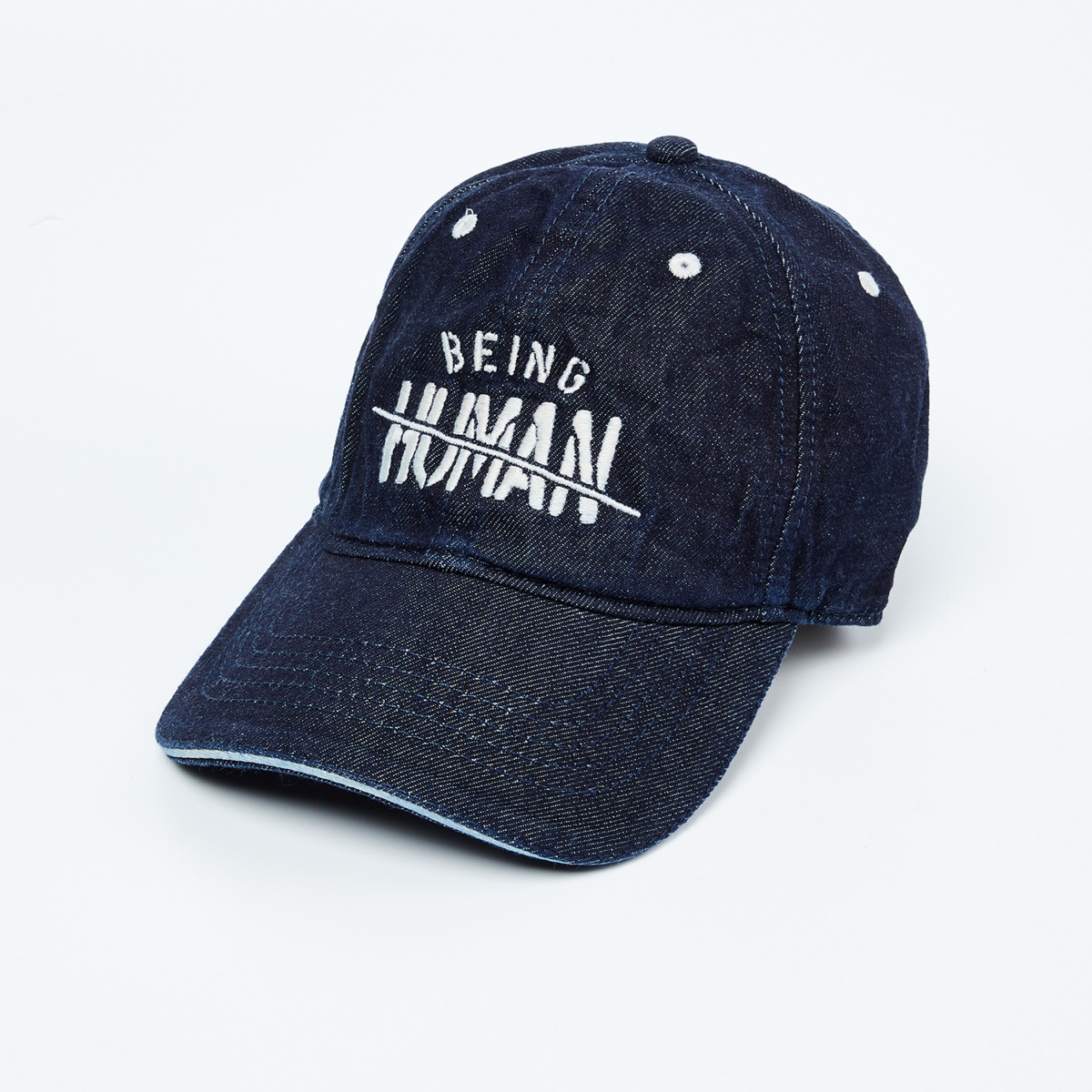BEING HUMAN Embroidered Cap with Adjustable Strap