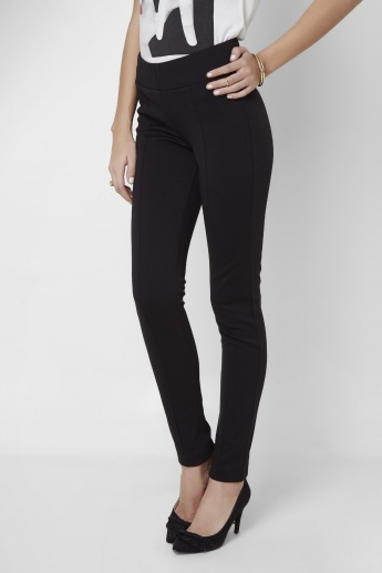 VERO MODA Solid High Waist Leggings