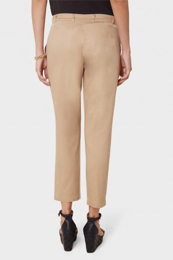 VERO MODA Solid Straight Pants