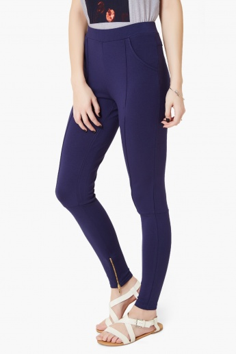 VERO MODA Solid Treggings
