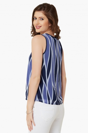 VERO MODA Printed Sleeveless Top