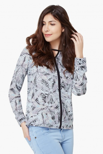 VERO MODA Printed Full Sleeves Blouse