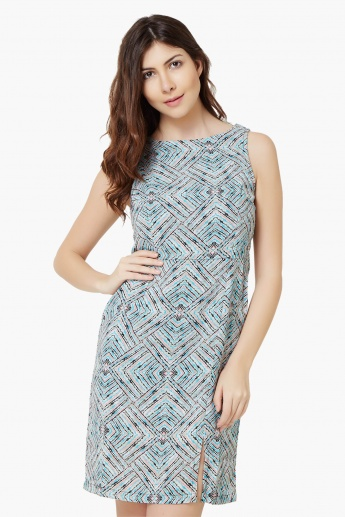 VERO MODA Sleeveless Printed Dress