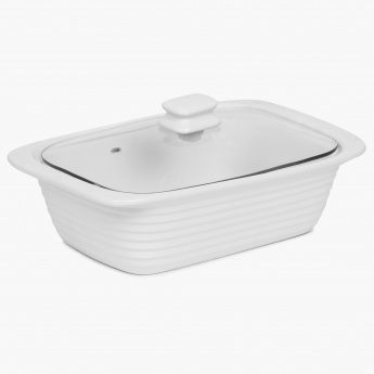 Veton Casserole Warmer With Glass Lid