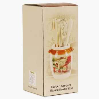 Garden Banquet Utensil Holder