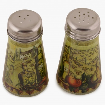 Sunburn Salt/Pepper Shaker- Set Of 2