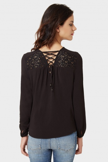 ONLY Lacy Lush Blouse