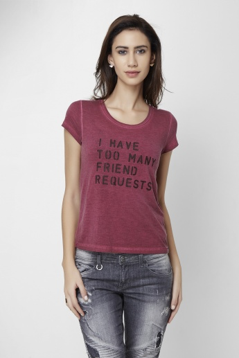 ONLY Quirky Message T-Shirt