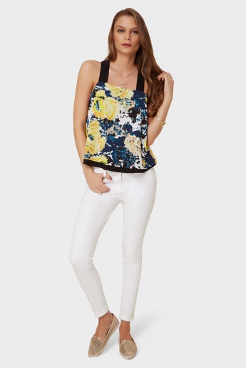 ONLY Printed Strappy Top