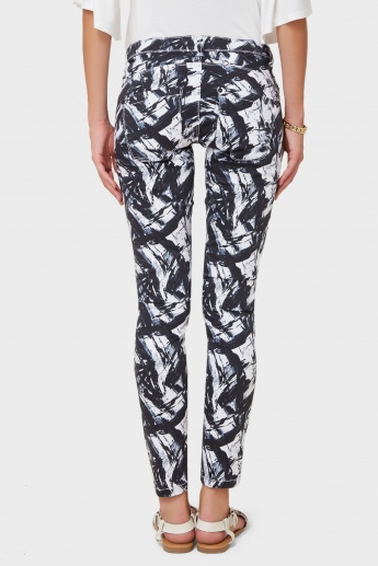 ONLY Printed Ankle Length Pants