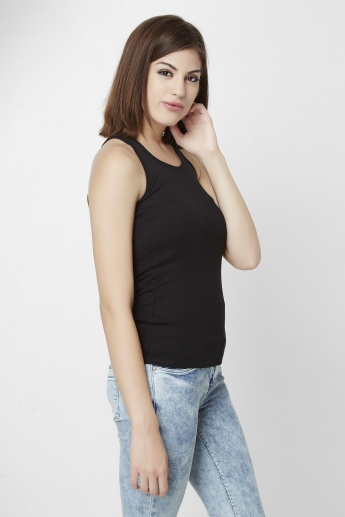UNITED COLORS OF BENETTON Solid Tank Top
