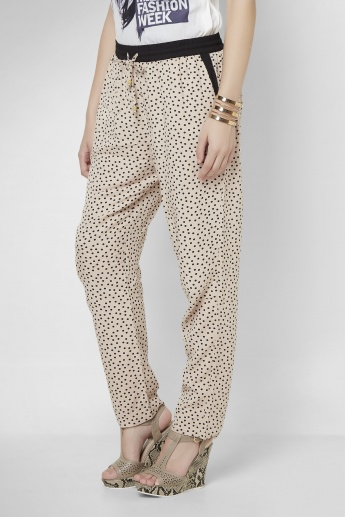 UNITED COLORS OF BENETTON Polka Print Pants