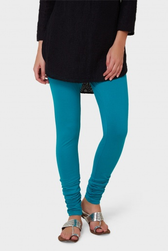W Solid Churidar Leggings