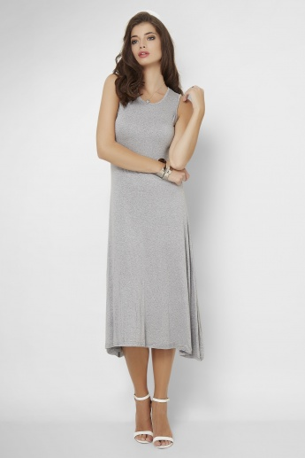 GINGER Knitted Midi Dress