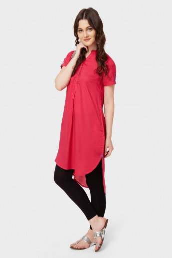 GLOBAL DESI High-Low Hem Kurta