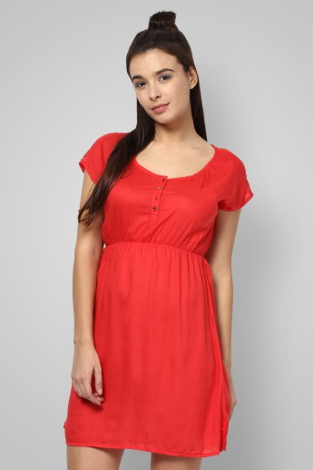 BOSSINI Solid Summer Dress