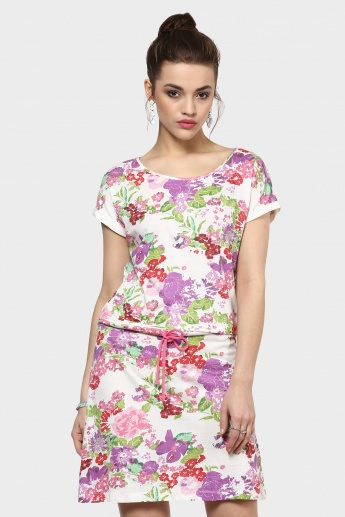 BOSSINI Printed T-Shirt Dress
