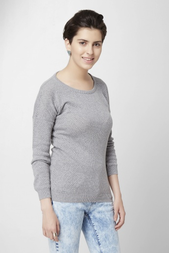 BOSSINI Flat Knit Sweater