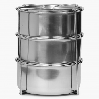 MILTON Tuscani Stainless Steel Lunch Box