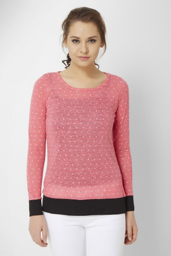 BOSSINI Pretty Polka Dot Top